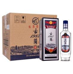 《【苏宁自营】郎酒 古蔺1987(A99)52度 500mL*6瓶 309元(双重优惠)》