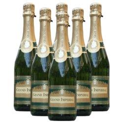 法国原瓶进口 皇家起泡葡萄酒整箱6支装(750ml*6)