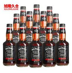 杰克丹尼威士忌预调酒-可乐味 12瓶装 预配制调制酒鸡尾酒