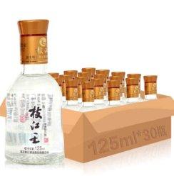 枝江王42度125ml* 30瓶  浓香型白酒