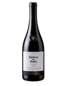 智利干露红魔鬼设拉子干红葡萄酒