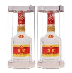 五粮液股份公司 尊耀 珍酿级 52度500ml*2瓶 浓香型白酒