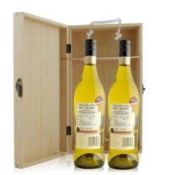 澳大利亚 布琅兄弟莫斯卡托甜白葡萄酒双支松木盒装