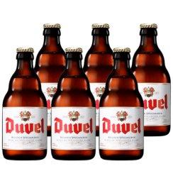 比利时原装进口啤酒手工精酿啤酒瓶装 督威啤酒330ml*6瓶