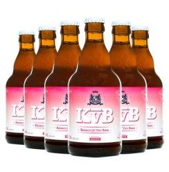 比利时进口 Keizerrijk 布雷帝国玫瑰色啤酒 组合装 330ml*6瓶  精酿啤酒