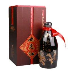 女儿红 绍兴黄酒十二年陈酿 12年半干型黄酒 牡丹瓶 500ml单瓶