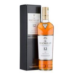 麦卡伦单一麦芽威士忌 洋酒Macallan  麦卡伦12年雪莉桶(新版)