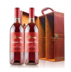 法国原瓶进口 Mouton木桐名庄 木桐传说波尔多桃红葡萄酒 750ml*2 双皮盒