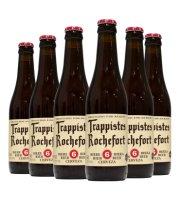 比利时进口啤酒 修道士啤酒 Rochefort罗斯福10号330ml*6精酿啤酒 罗斯福6号啤酒*6瓶
