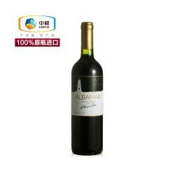 中粮进口红酒 智利原装进口葡萄酒 爱博马酒园干红葡萄酒750ml