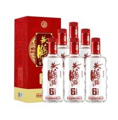 【官方旗舰】黄鹤楼酒 生态原浆6 42度500ml*6瓶 兼香型酒 白酒整箱