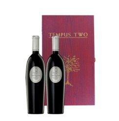 乐豁 豪华双支装礼盒 澳洲原瓶进口藤柏丝色拉子红葡萄酒礼盒(带酒具)