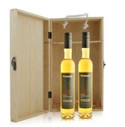 新西兰 考瑞酒庄冰酒双支松木礼盒装