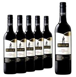博纳旺蒂澳洲原瓶进口红酒干红葡萄酒澳大利亚西拉设拉子750ML 进口红酒整箱特价