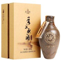 【长期保存】塔牌手工原酒15.5度 盒装黄酒600ml装 半干型黄酒  礼盒黄酒
