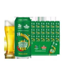 《【苏宁自营】青岛啤酒 经典10度 500ml*18听 57.4元(满199-60)》