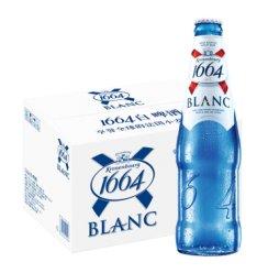 1664啤酒 法国克伦堡啤酒凯旋1664小麦啤酒 330ml*24瓶整箱装