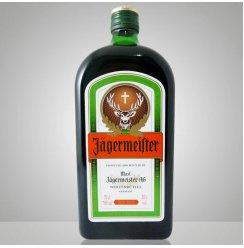德国原瓶进口洋酒 野格圣鹿利口酒700ml野格鹿头酒力娇酒甜酒送杯