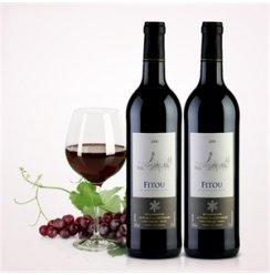 酒美网 法国菲图地中海风情-菲图2008干红葡萄酒双支装 750ml*2