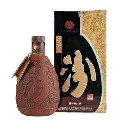 名酒 汾酒杏花村 紫砂汾酒 清香代表 42度475ml 清香型白酒
