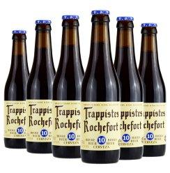 [天猫超市]比利时进口啤酒罗彻福 罗斯福10号精酿啤酒330ml*6瓶