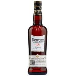 帝王(Dewar's)洋酒 威士忌 12年苏格兰调配威士忌700ml