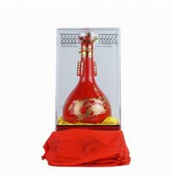 红星二锅头 清香型白酒 2011年产 38度百年红星红瓷瓶500ML单瓶