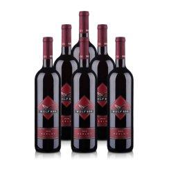 【清仓】澳洲詹姆士888美乐干红葡萄酒(6瓶装)