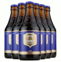 比利时原装进口智美系列啤酒Chimay修道院啤酒 智美蓝帽啤酒330ml*6瓶