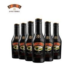 百利甜酒baileys原味200ml*6小瓶组合配制烘焙奶油力娇酒女性洋酒