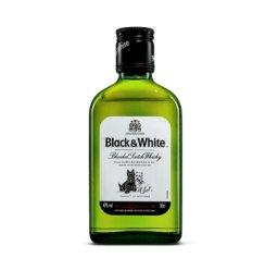《【京东商城】黑白狗调配型苏格兰威士忌 Black & White 200ml 32.11元(双重优惠)》
