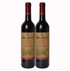 张裕百年赤霞珠干红葡萄酒优选级 两瓶装 .