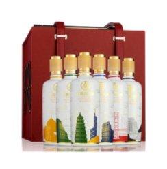 五粮液股份出品 五粮 国宾套酒(彩装)52度 500ml*6瓶 箱装 浓香型白酒