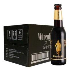 《【京东自营】瓦伦丁(Wurenbacher)黑啤 330ml*24瓶 97.32元(双重优惠)》