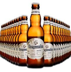 福佳(Hoegaarden) 比利时风味精酿啤酒 福佳白啤酒 330ml*24支整箱