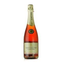 西班牙原装原瓶进口 卡瑞斯高泡干桃红葡萄酒 750ml
