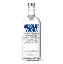 《【京东自营】绝对伏特加(Absolut Vodka)1000ml 84元(2件8折)》