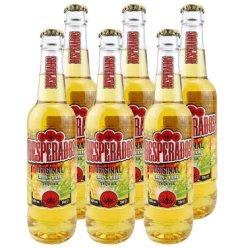 2020.3.31到期 荷兰进口啤酒 亡命之徒啤酒 龙舌兰味啤酒Desperados330mL*6瓶