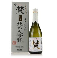 梵清酒 日本原装进口 梵特撰纯米大吟酿清酒三割八分720ml