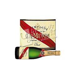 玛姆红带特级干型香槟375ml