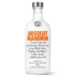 绝对伏特加(Absolut Vodka)洋酒 柑橘味伏特加酒 700ml