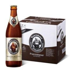 《【京东自营】范佳乐 大棕瓶 小麦白啤酒 450ml*12瓶 51.18元(双重优惠)》