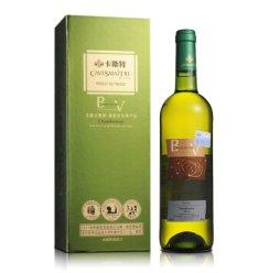 酒仙网 13°法国卡斯特帝亚莎当妮干白葡萄酒750ml