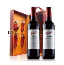 澳洲原瓶进口红酒 Penfolds奔富Bin28干红葡萄酒 750ml*2 双皮盒