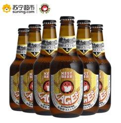 《【苏宁自营】日本(Hitachino Nest)常陆野猫头鹰拉格啤酒 330ml*6瓶 45.15元(双重优惠)》