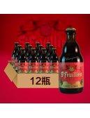 比利时进口精酿啤酒 St-feuillien圣佛洋圣诞啤酒9% 330ml