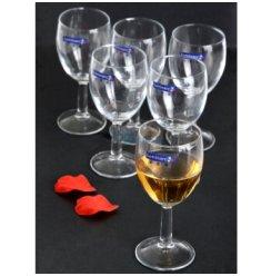乐美雅实威高脚玻璃杯E5872(六个装)