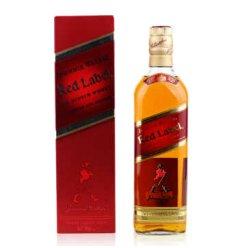 酒仙网 尊尼获加红方威士忌40度700ml 英国原瓶原装进口洋酒