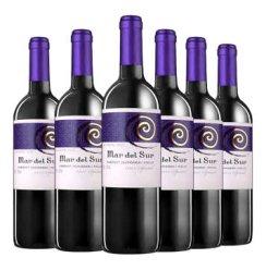 智利原瓶进口红酒 马代苏系列干红葡萄酒 精选 酒具套装 750ml