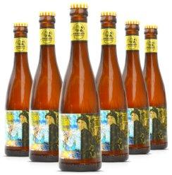 香格里拉精酿青稞啤酒胖卓玛IPA 藏式艾尔松嘎 黑牦牛黑啤高度精酿中国产精酿云南 6瓶香格里拉金童